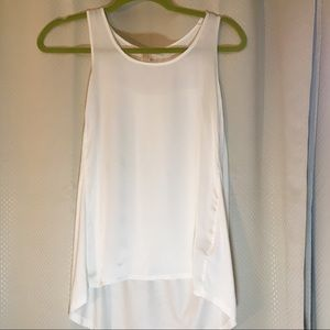 Michael by Michael Kors silk top off white